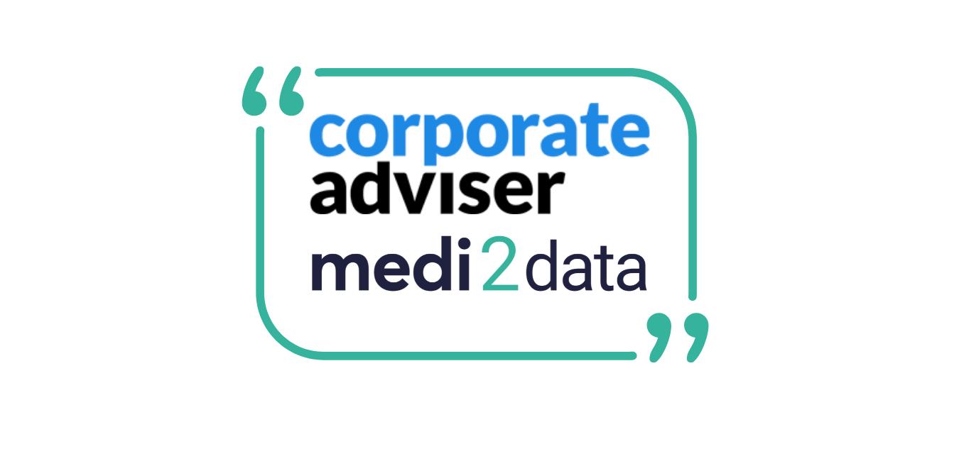 Medi2data featured in Corporate Advisor article